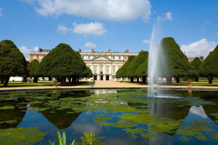 Hampton Court Palace and Gardens Surrey west London