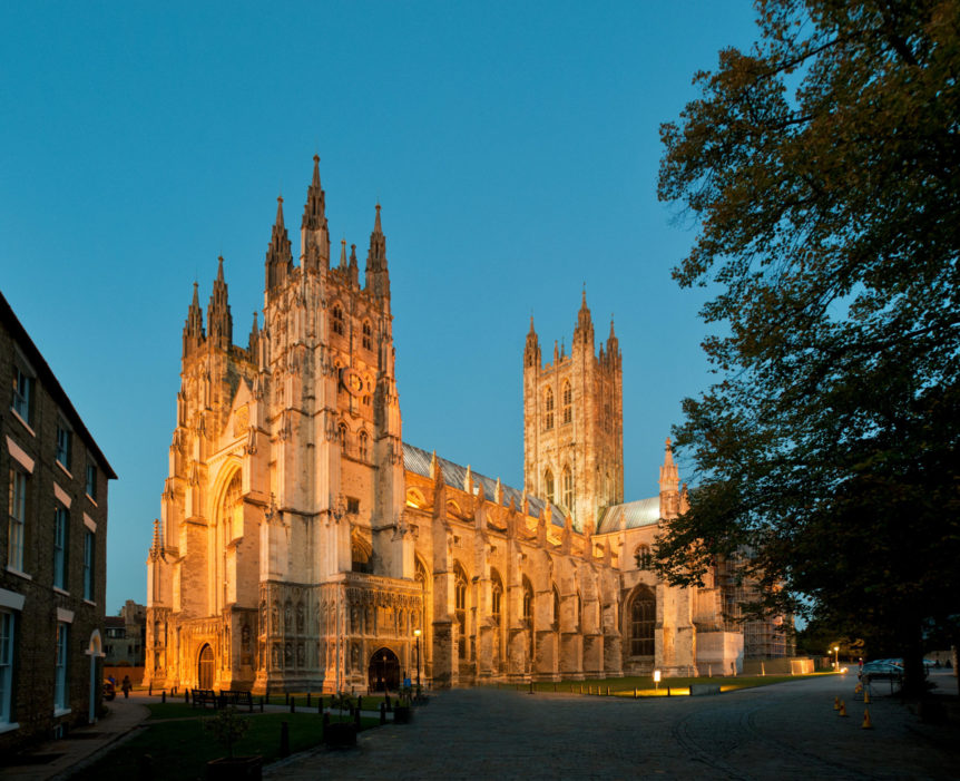 Canterbury Cathedral Kent England GB UK Europe