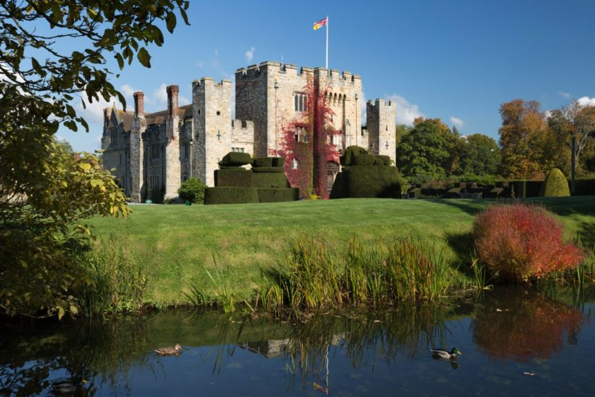 Hever Castle and gardens, Hever, Kent, England, United Kingdom, Europe