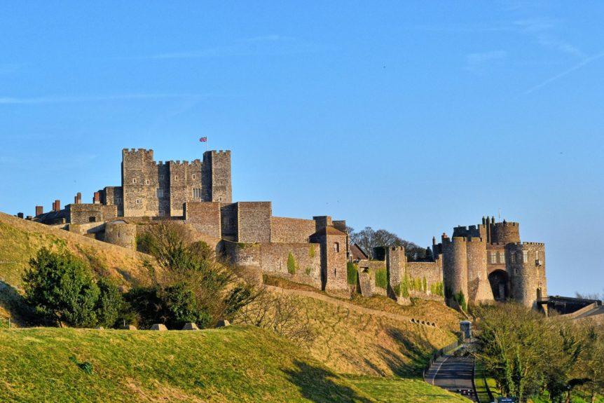 Dover Castle, Dover, Kent, UK